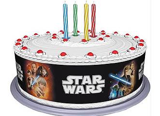 Tortenband für Star Wars-Überraschungstorte
