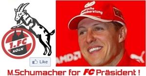 Michael Schumacher soll Präsident beim 1.FC Köln werden