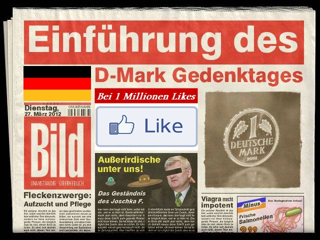Deutsche Mark Gedenktag
