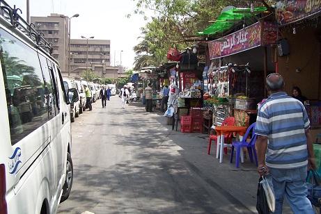 Kairo, micro-bus station