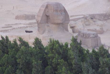 die Sphinx in Gizeh