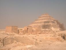 Stufenpyramide in Sakkara