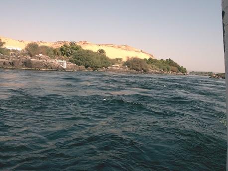Nil-Kattarakte bei Assuan