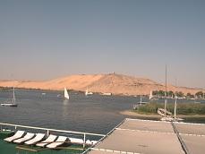 der Nil vom Kreuzfahrtschiff aus