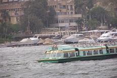Niltaxi in Kairo