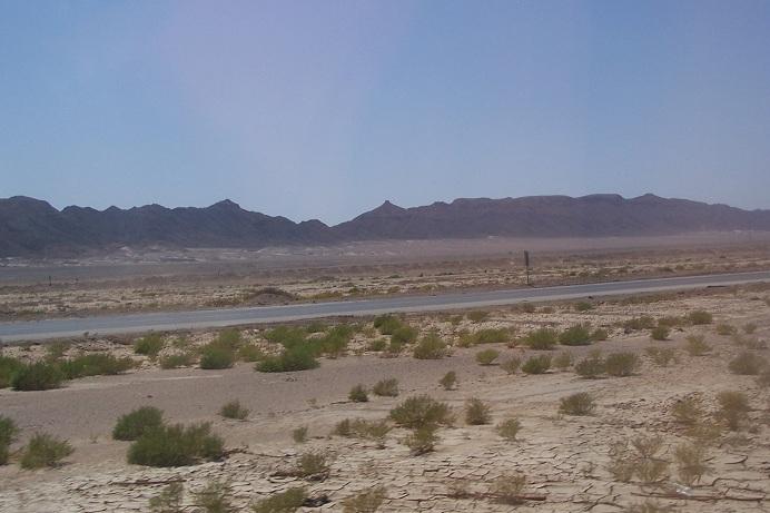 auf dem Weg Hurghada-Kairo