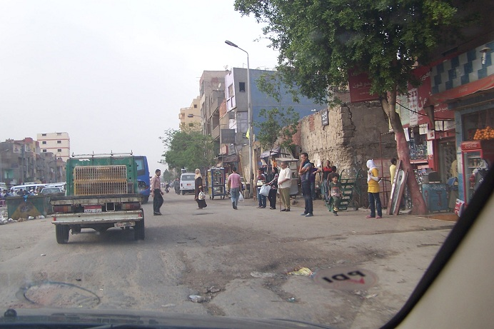 Straße in Kairo