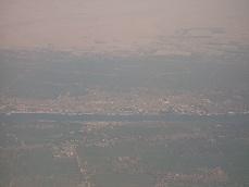 Luxor aus der Luft