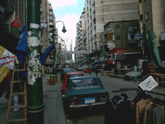 street-life in Alexandria