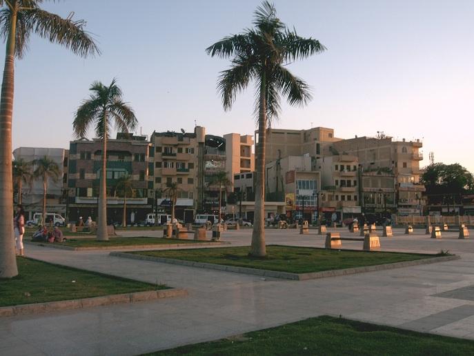 Platz vor dem Luxor Tempel