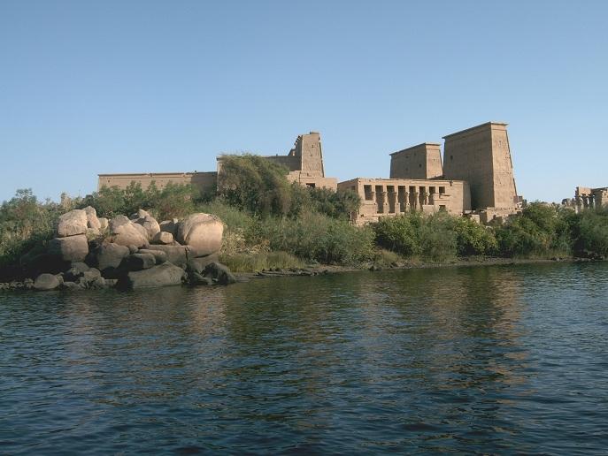 Philae Tempel auf  der Insel Agilkia