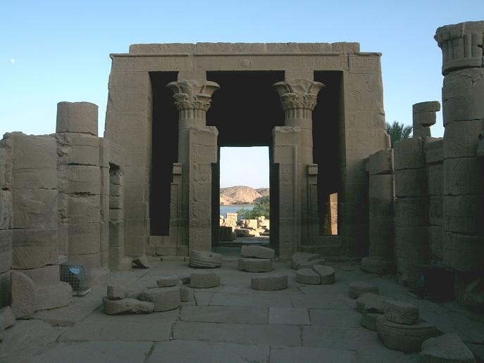 Philae Tempel bei Assuan