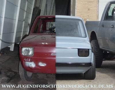 Jugend Forscht 180 S Fiat 126 R1